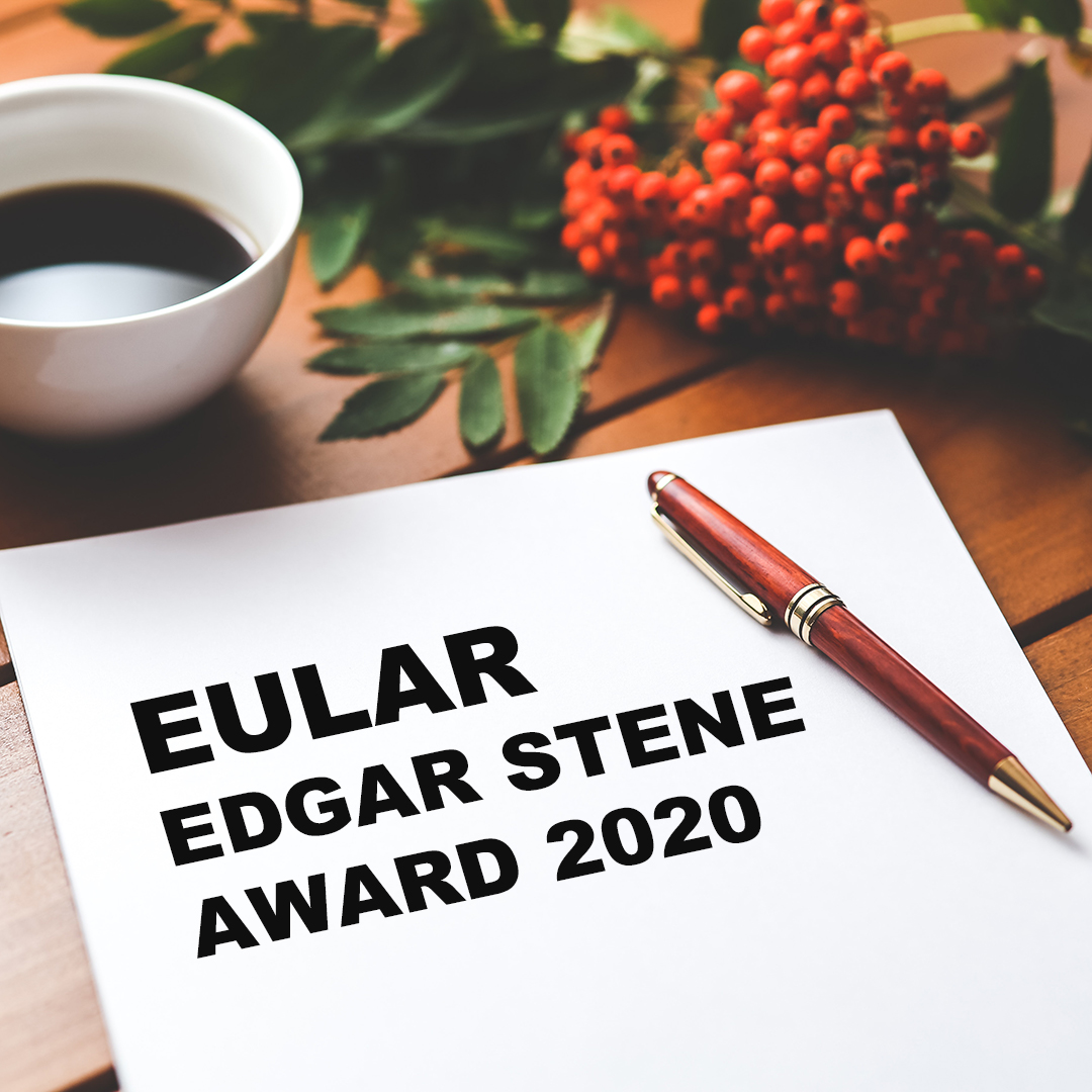 EULAR Awards : Edgar Stene Prize 2020